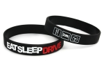 Armband EAT SLEEP DRIVE mit Symbolen