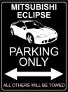 Mitsubishi Eclipse D30 (2G) Parking Only - Aluschild